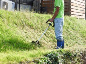草刈りの画像